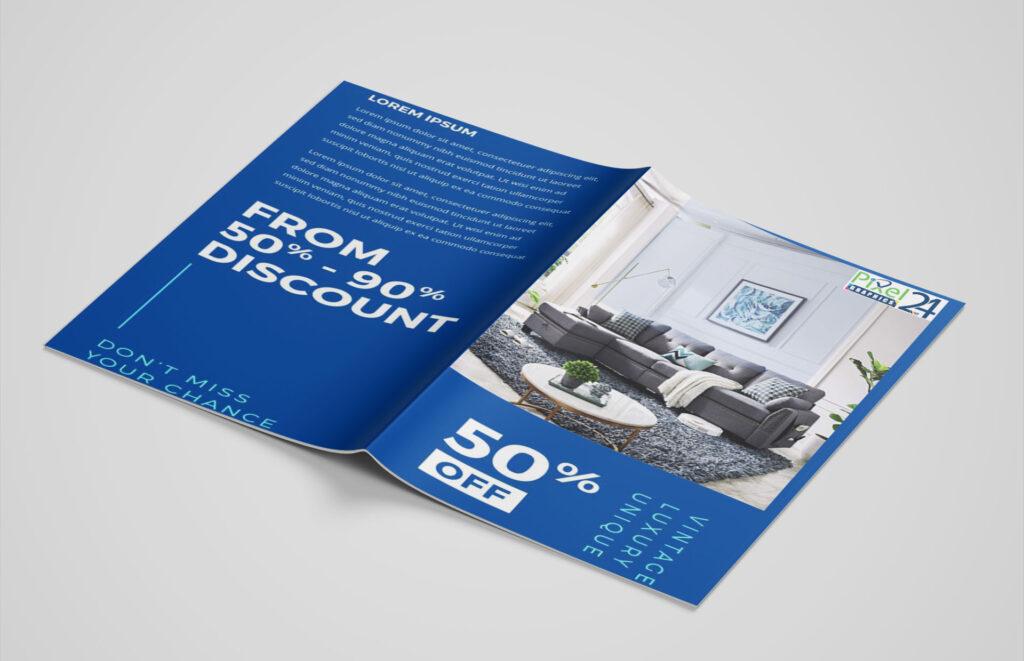Catalog Design || Graphics Design Services ||