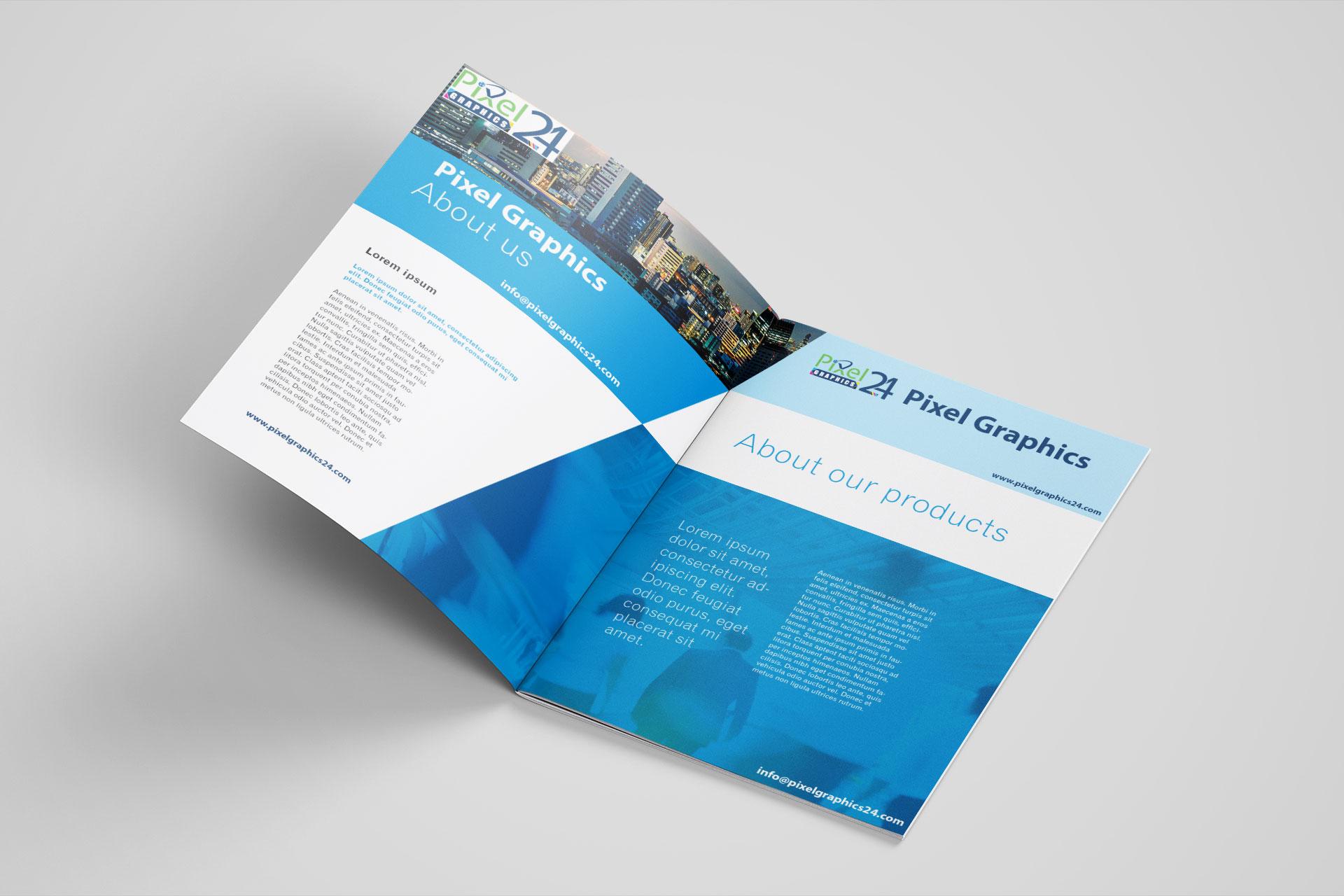 Brochure Design || Graphics Design Services ||