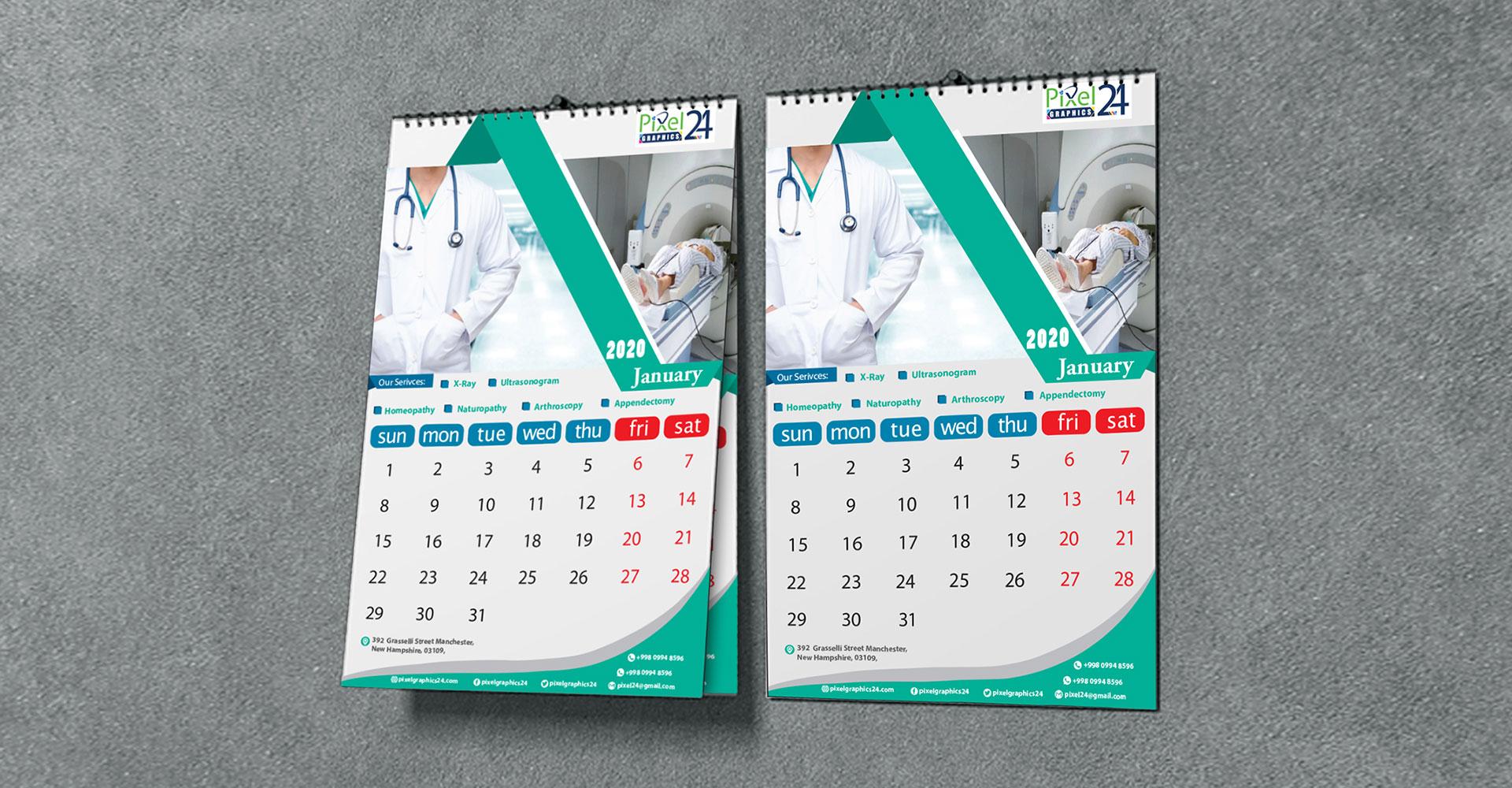 Calendar Design    Graphics Design Services   