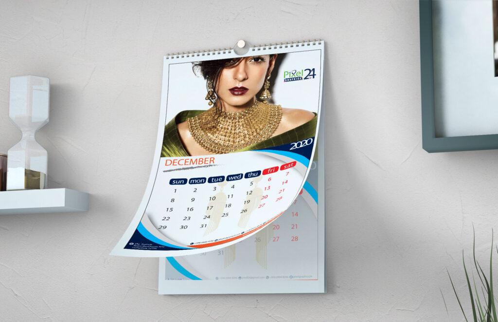 Calendar Design || Graphics Design Services ||
