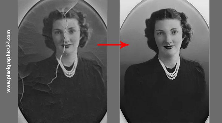 Photo Restoration & Enhancement Services   Image Restoration Services    Remove Background from Image
